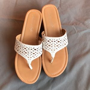 American eagle sandals from Payless